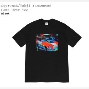 Supreme Yohji Yamamoto Game Over Tee🆕
